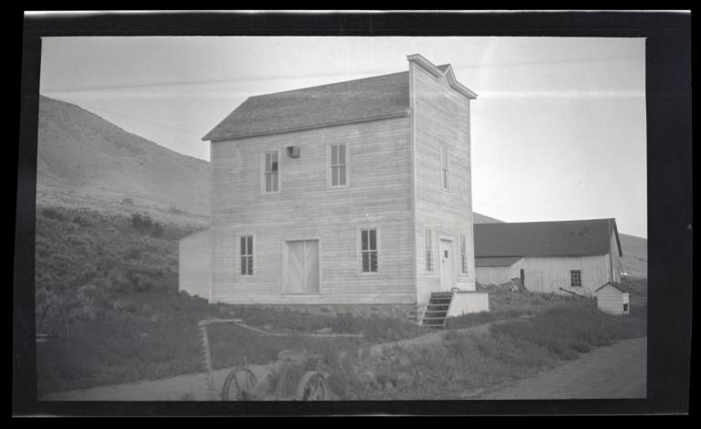 Grist Mill at the Western Shoshone Resvation, Owyhee, Nevada