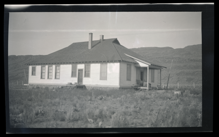 Day School at the Western Shoshone Reservation, Nevada