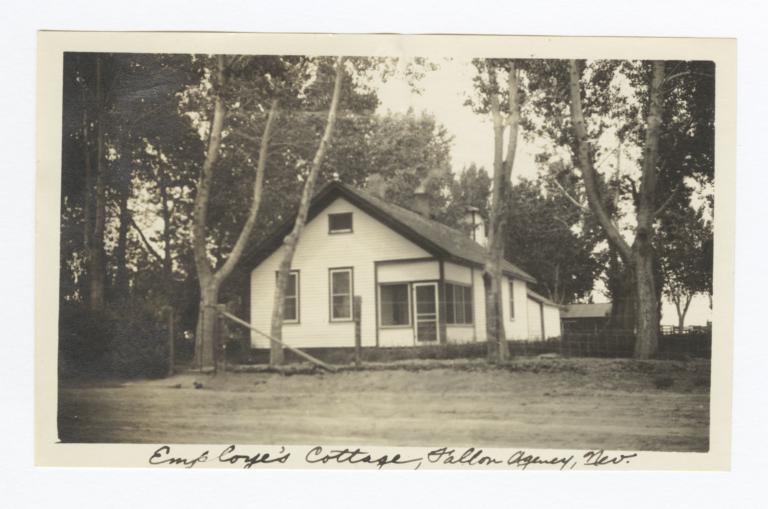 Fallon Indian Agency, Employee's Cottage, Fallon, Nevada