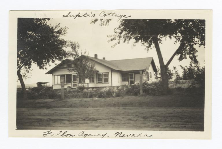 Fallon Indian Agency, Superintendent's Cottage, Fallon, Nevada