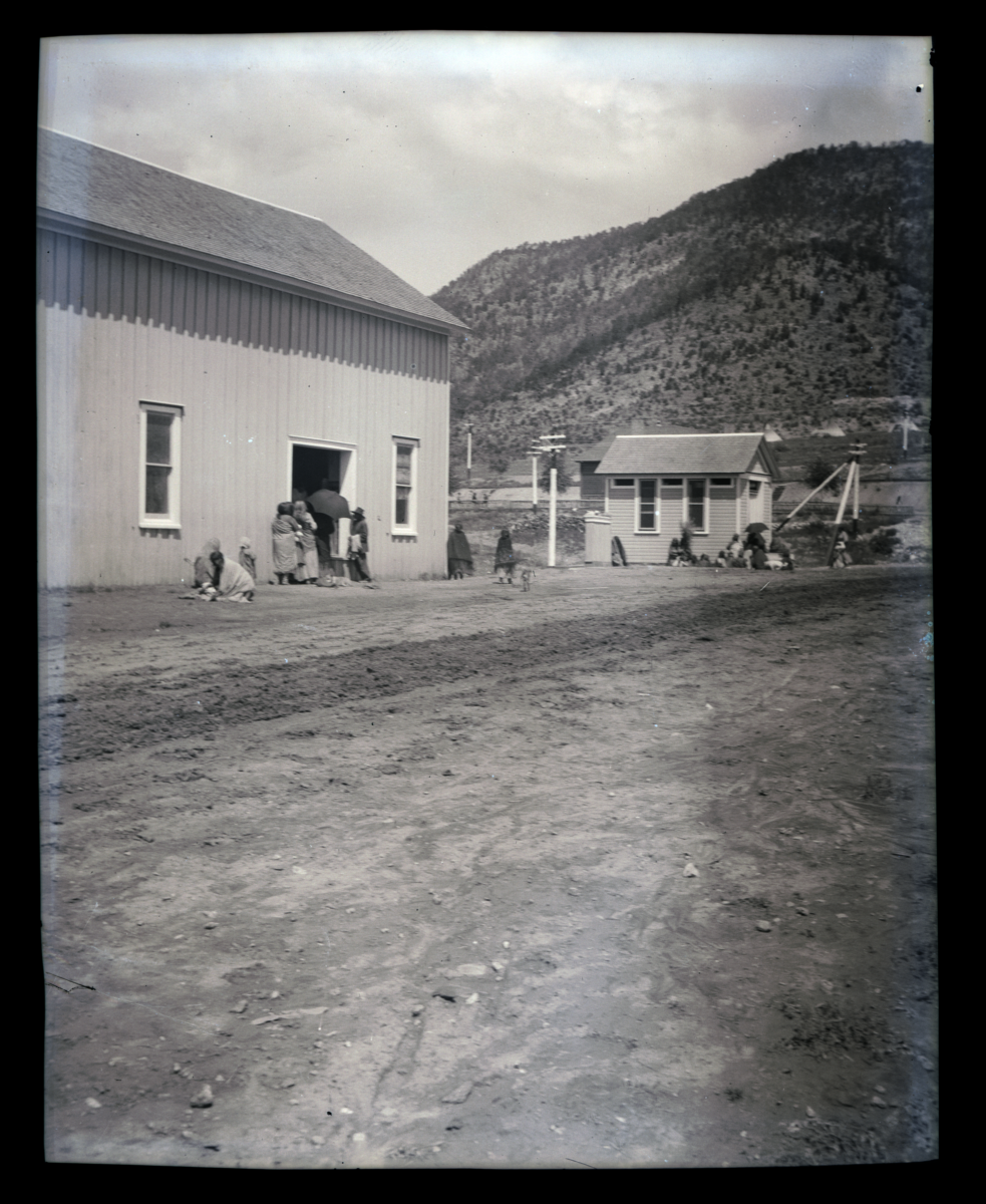Waiting for Beef Ration, Summer 1910