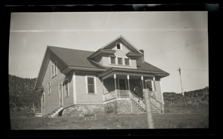 Community House, or the Lodge of the Reformed Church, Mescalero Indian Reservation