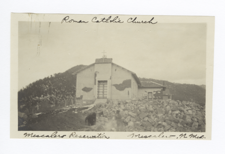 Roman Catholic Church, Mescalero Indian Reservation, Mescalero, New Mexico