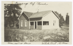 Parsonage, Reformed Church, Mescalero Resvervation, Whitetail, New Mexico