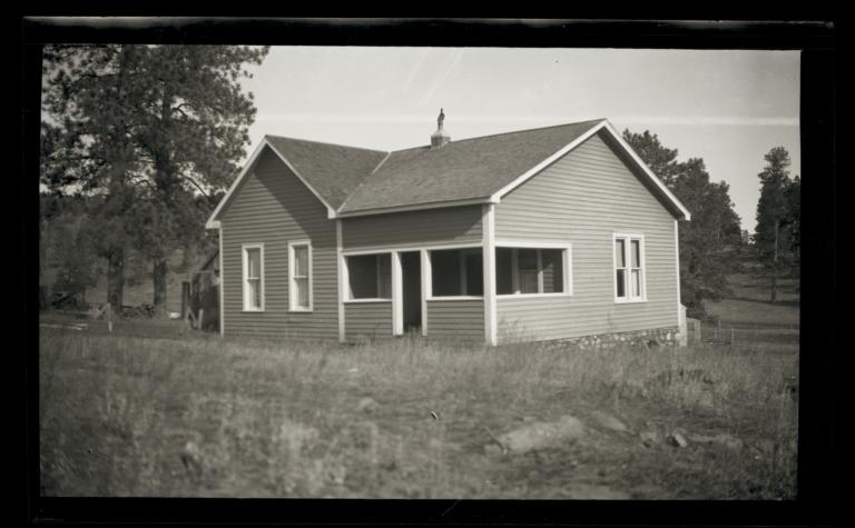 Parsonage, Reformed Church, Mescalero Resvervation, Whitetail, New Mexico