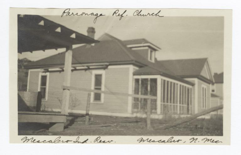 Parsonage, Reformed Church, Mescalero Indian Reservation, Mescalero, New Mexico