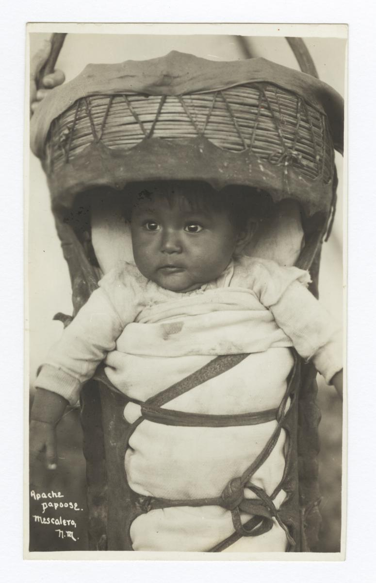 Apache Child, Mescelero, New Mexico