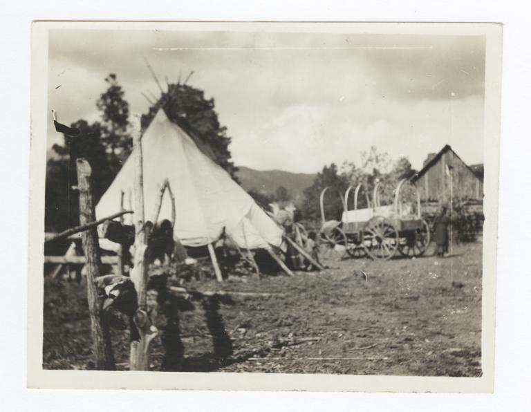 John Corrilla's Camp, Ruidoso Canyon, Mescelaro, New Mexico