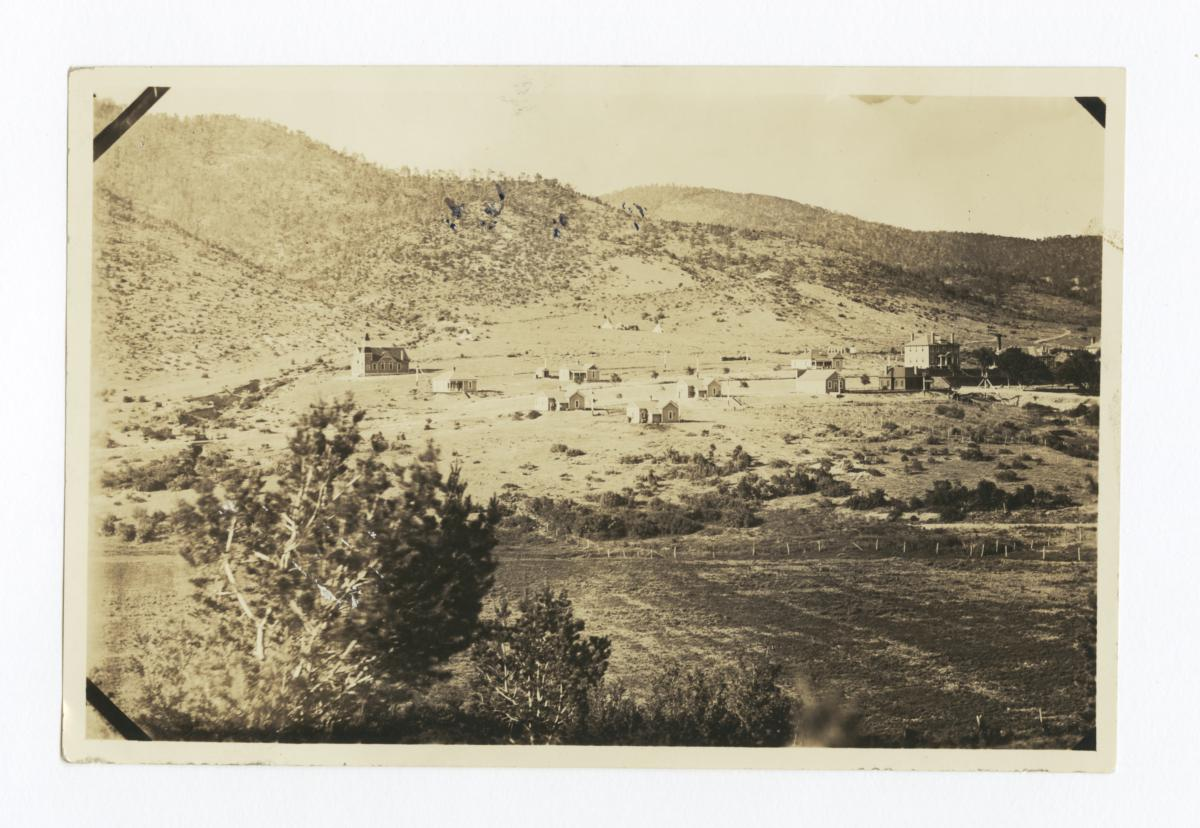 View of Mescalero, New Mexico, 1910