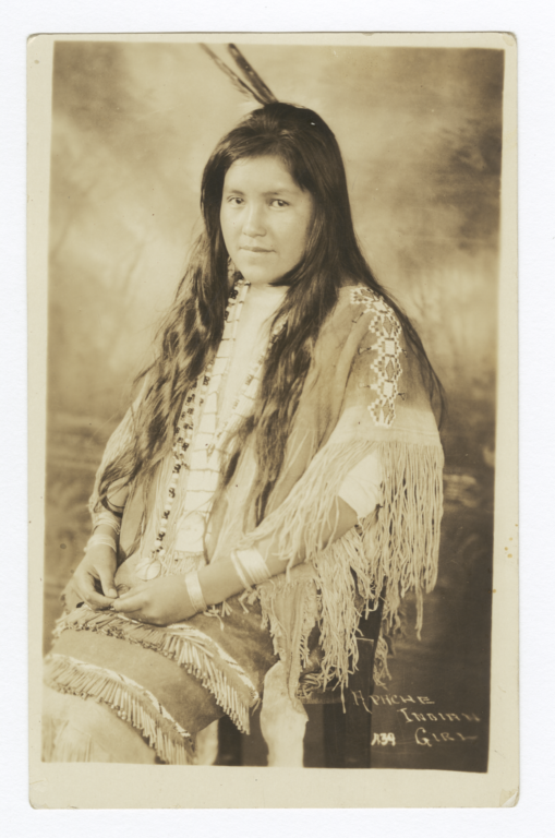 Apache Indian Girl