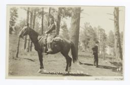 Mescalero Indian on a Horse, New Mexico