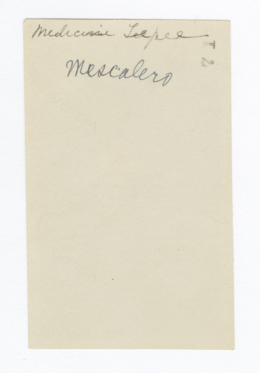 Mescalero Medicine Tipi