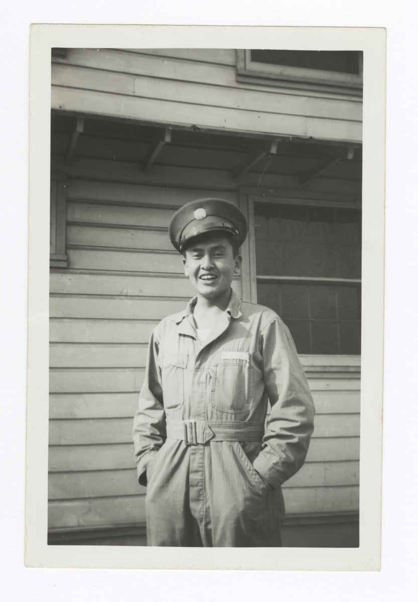 Aviation Mechanic, Elmer L. Hunt, Son of Irvin Hunt, Laguna, New Mexico