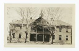 Unidentified Building, Front View