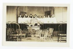 Church Choir, Mescalero, New Mexico