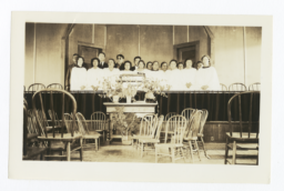 Church Choir, Mescalero, New Mexico