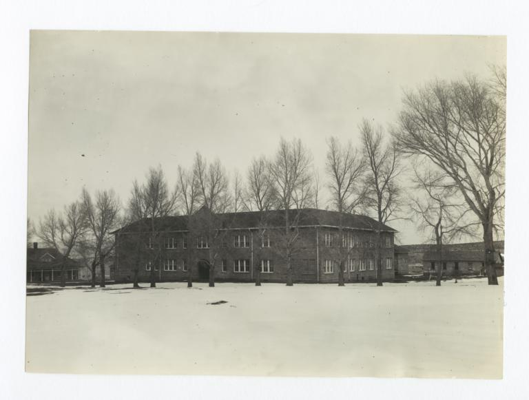 Manuelito Hall School Building, Charles H. Burke School