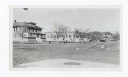 View of the Campus, Charles H. Burke School, Fort Wingate, New Mexico