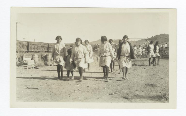 Apache School Girls