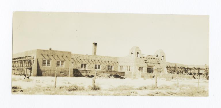 New Indian Hospital at Santa Fe, New Mexico