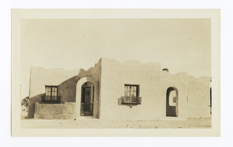 Employees' Cottage, Santa Fe, New Mexico