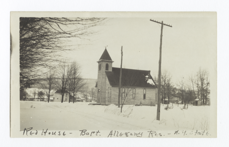 Allegany Reservation, Red House Baptist Church, New York