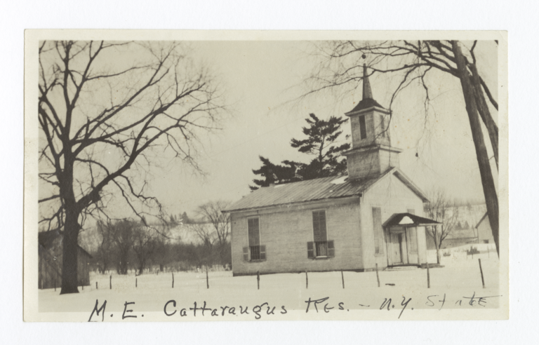 Cattaraugus Reservation, Methodist Episcopal Church, New York