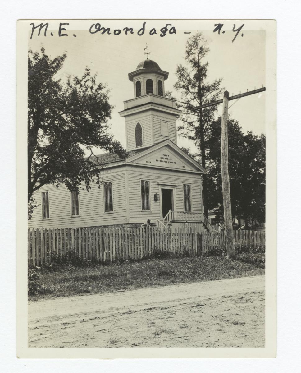 Onondaga Reservation, Methodist Episcopal Church, New York