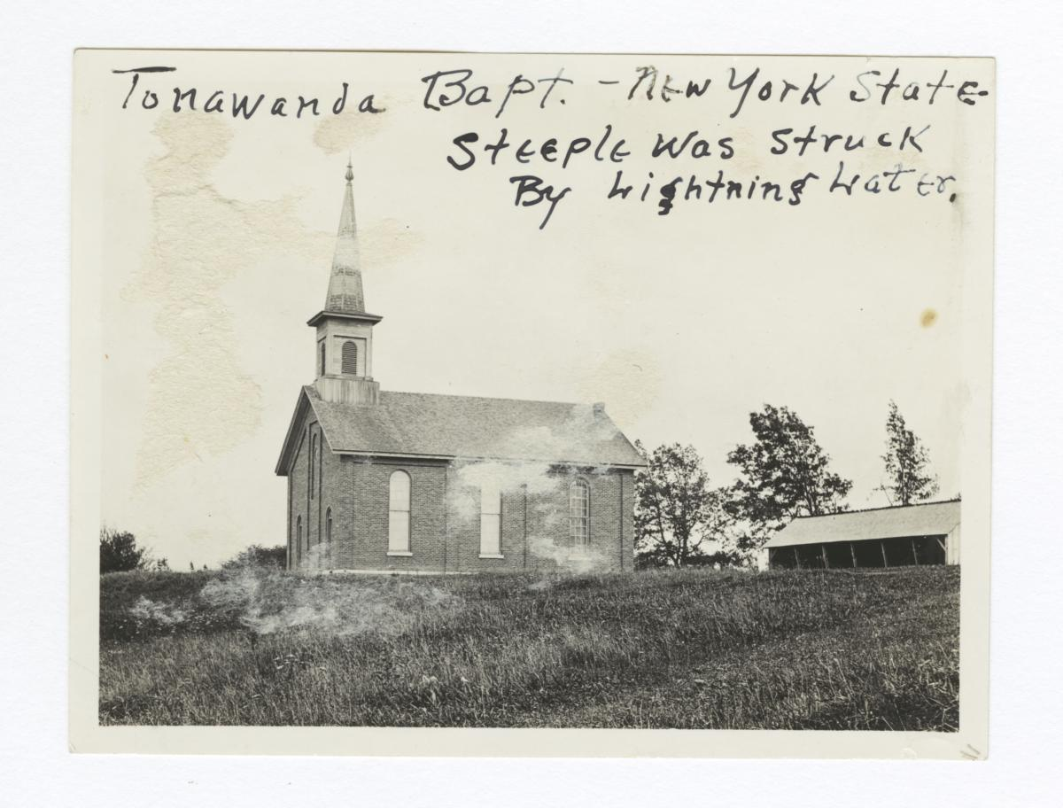 Tonawanda Reservation, Baptist Church, New York