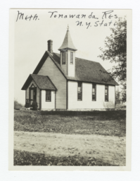 Tonawanda Reservation, Methodist Church, New York