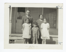 Seneca Reservation, Reverend and Mrs. W. David Owl and Family, New York