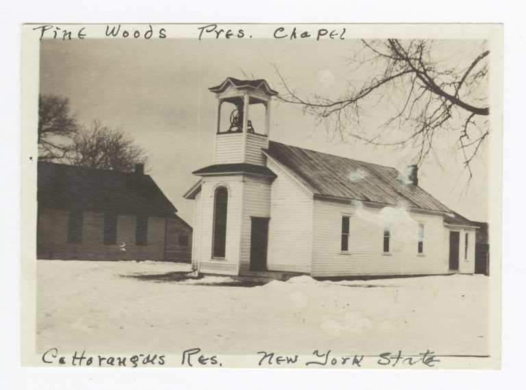 Cattaraugus Reservation, Pine Woods Presbyterian Chapel, New York