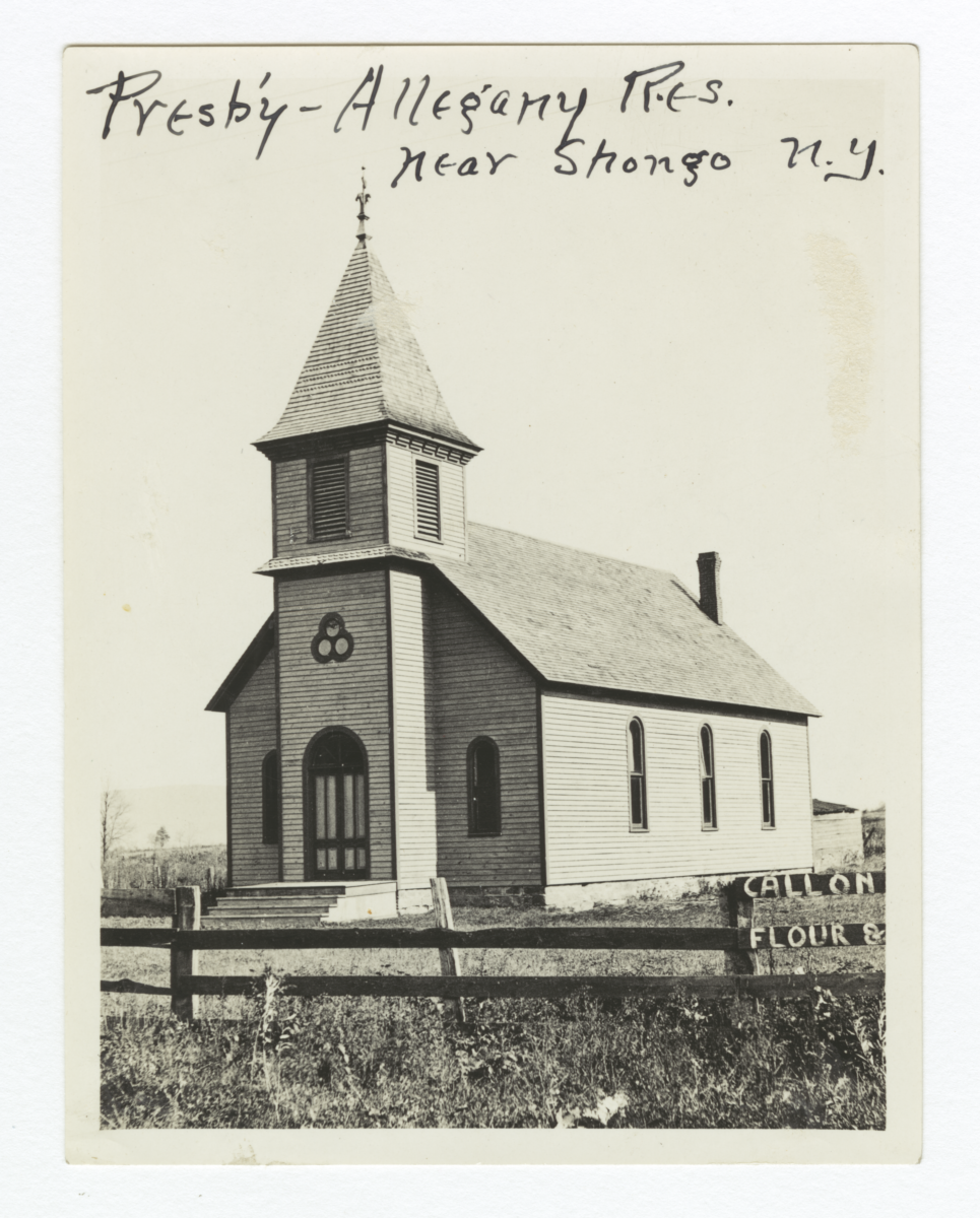 Allegany Reservation, Presbyterian Church, New York