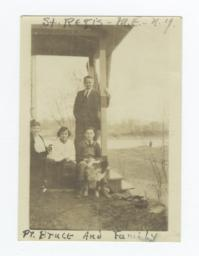 St. Regis Methodist Episcopal Church, Pr. Bruce and Family, New York