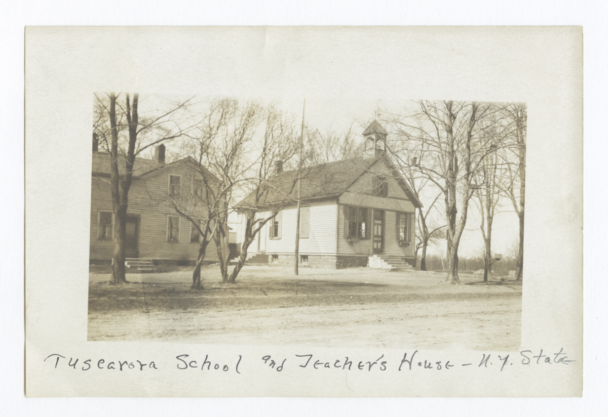 Tuscarora School and Teacher's House, New York