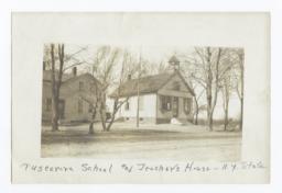 Tuscarora School and Teacher's House, New York
