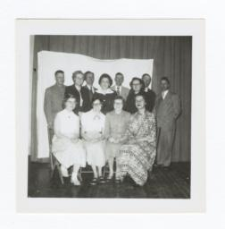 Group Portrait, Adult Men and Women, Wahpeton, North Dakota