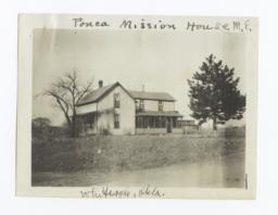 Methodist Episcopal Mission House, White Eagle, Oklahoma