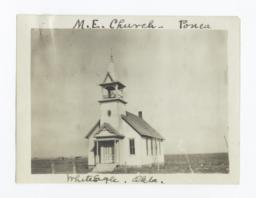 Methodist Episcopal Church Buidling, White Eagle, Oklahoma