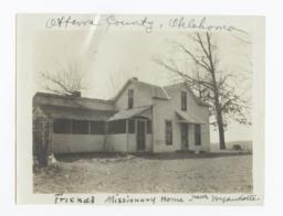 Ottawa County, Oklahoma, Friends Missionary Home near Wyandotte