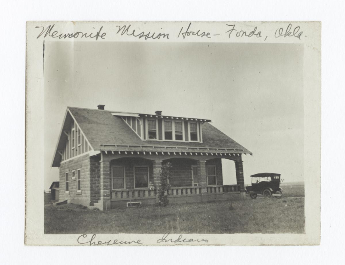 Mennonite Mission House, Fonda, Oklahoma