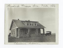 Mennonite Mission House, Fonda, Oklahoma