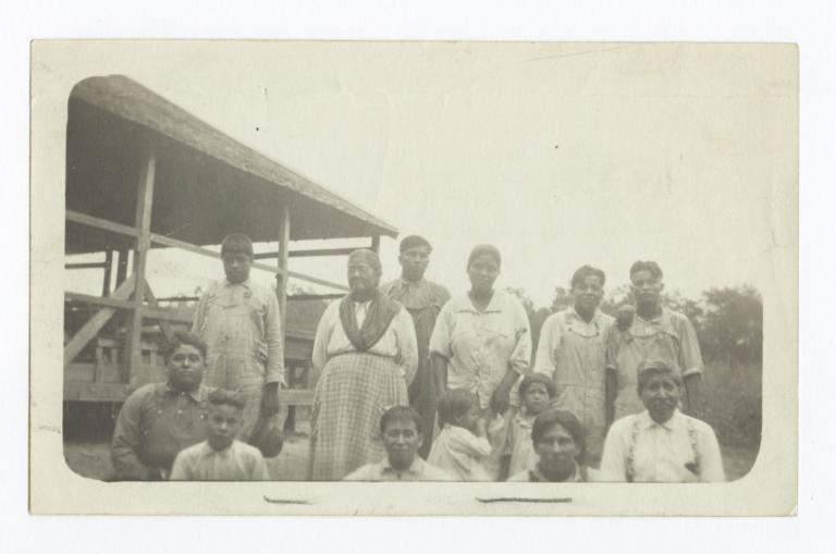 Choctaw Testament Class at Cherokee Lake, Oklahoma