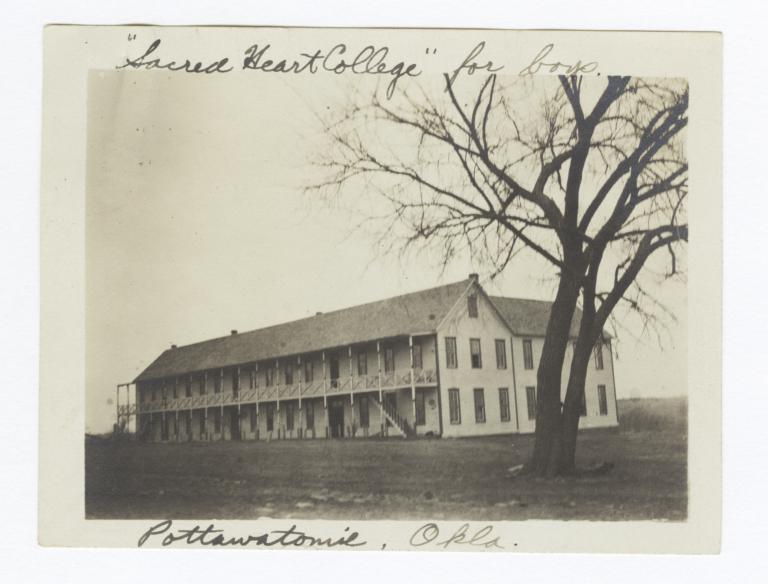 Sacred Heart College, Pottawatomie, Oklahoma