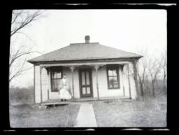 Home of Miss Jayne, Missionary, Oklahoma