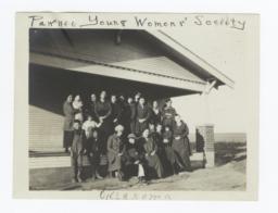 Pawnee Young Womens' Society, Oklahoma