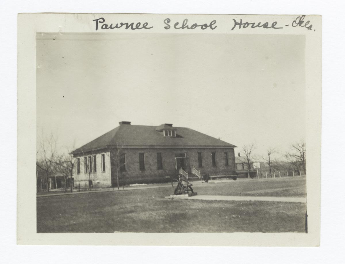 Pawnee School House, Oklahoma