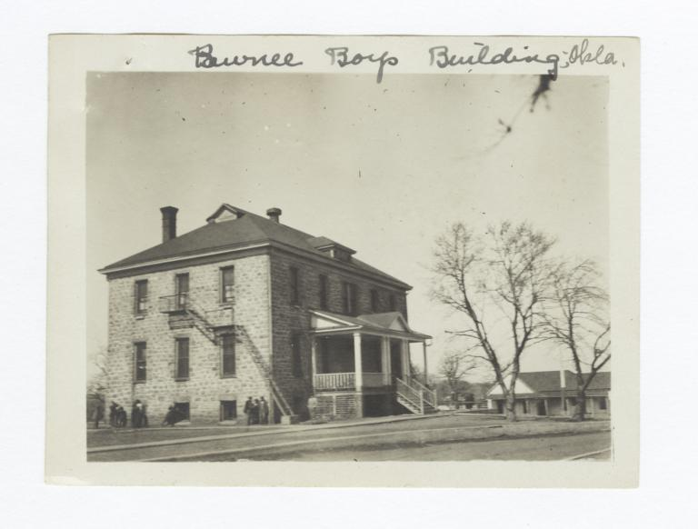 Pawnee Boys School Building, Oklahoma