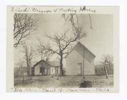 "Friend's Mission and Meeting House, ""Big Jims"" Band of Shawnees, Oklahoma"