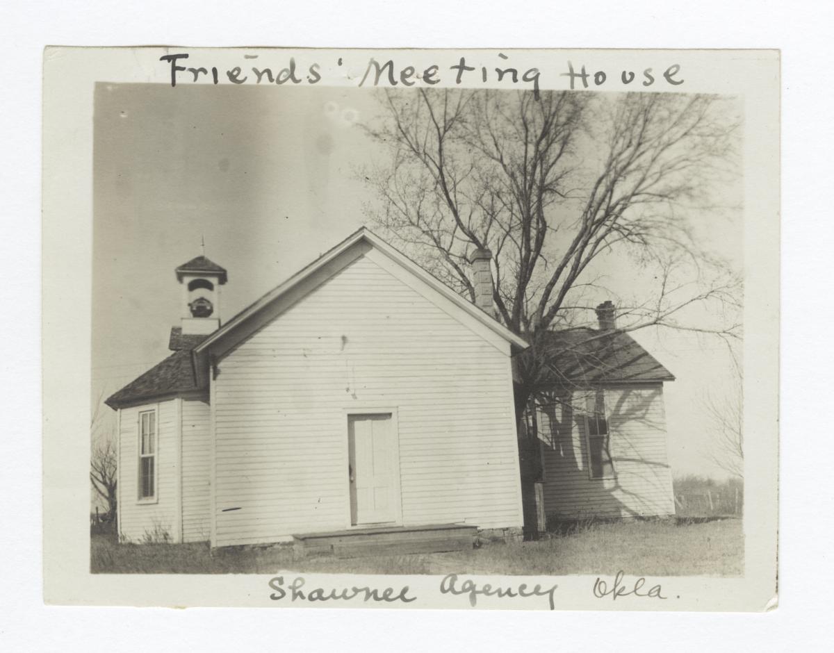 Shawnee Mission, Friends' Meeting House, Oklahoma